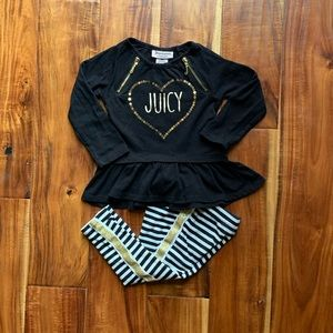 Juicy Couture Baby girl Long sleeve top and pants